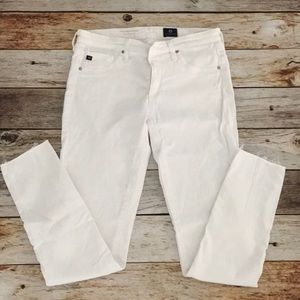 AG White Denim